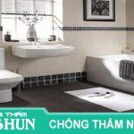 Chuyên nhận chống thấm nhà vệ sinh quận tân bình uy tín