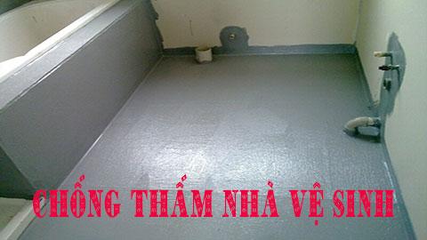 Báo giá chống thấm nhà vệ sinh giá rẻ