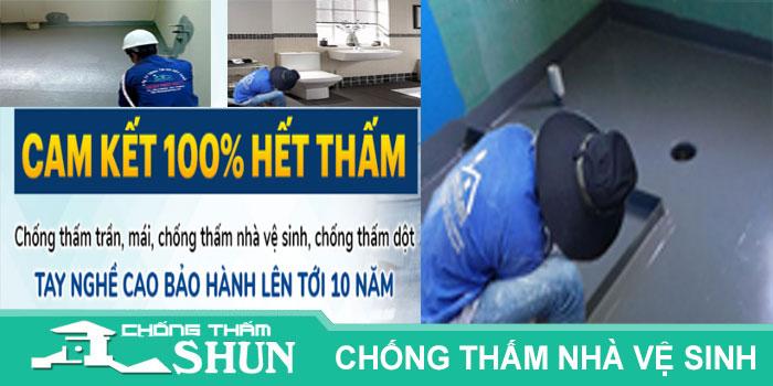 Chuyên nhận chống thấm nhà vệ sinh tại quận 6 giá rẻ