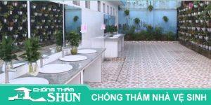 Chuyên nhận chống thấm nhà vệ sinh quận gò vấp