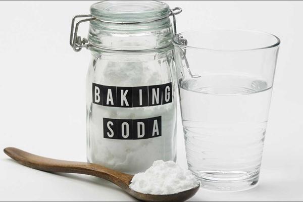Banking Soda, giấm ăn hoặc muối